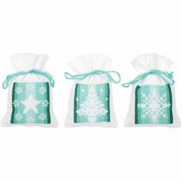 Winter Pot Pourri Bags Set of 3 Cross Stitch Kits