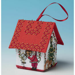 Planning The Route Santa House Cross Stitch Kit