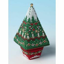Small Christmas Advent Tree 3D Cross Stitch Kit