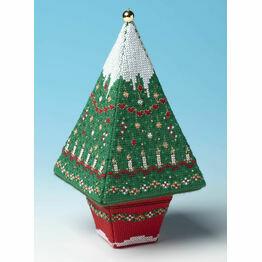 Tall Christmas Advent Tree 3D Cross Stitch Kit