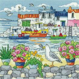 Geranium Shore Cross Stitch Kit