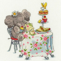 Elly One For Tea? Cross Stitch Kit