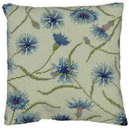 Cornflower Herb Pillow Tapestry Kit