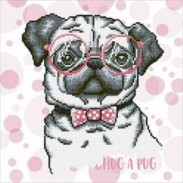 Hug A Pug Diamond Dotz Kit
