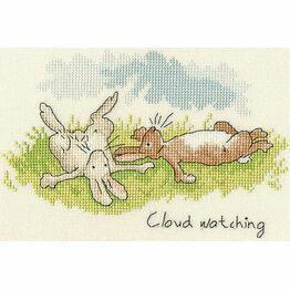 Cloud Watching Cross Stitch Kit