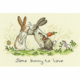 Some Bunny To Love Cross Stitch Kit