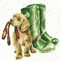 Hopeful Cross Stitch Kit