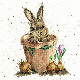 The Flower Pot Cross Stitch Kit