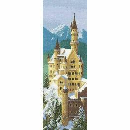 Neuschwanstein Castle Cross Stitch Kit by Heritage Crafts