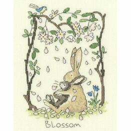 Blossom Cross Stitch Kit
