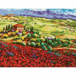 Tuscan Poppies Tapestry Kit