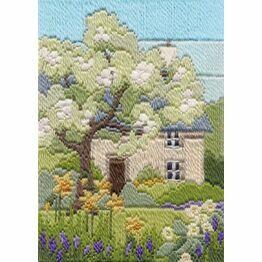 Spring Garden Long Stitch Kit