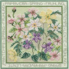 Four Seasons Spring Cross Stitch Kit