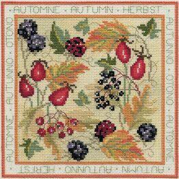 Four Seasons Autumn Cross Stitch Kit