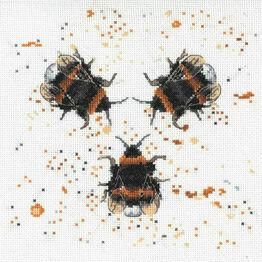 Bee Happy Cross Stitch Kit by Bree Merryn