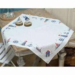 Maritime Tablecloth Cross Stitch Kit
