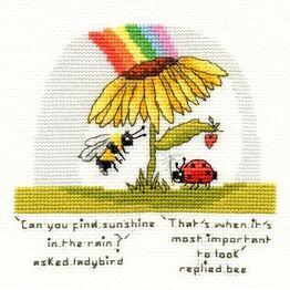 Finding Sunshine Cross Stitch Kit
