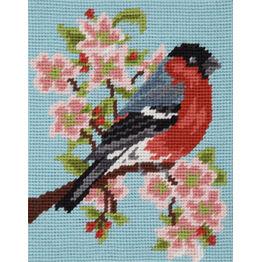 Bullfinch & Blossom Beginners Tapestry Kit