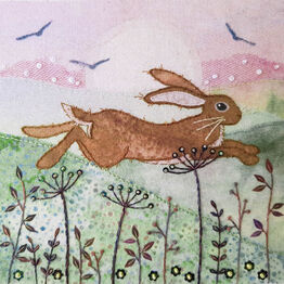 Hare Meadow Embroidery Kit