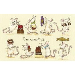 Chocoholics Cross Stitch Kit