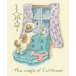 The Magic Of Christmas Cross Stitch Kit