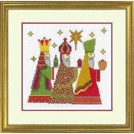 The Three Kings Cross Stitch Kit