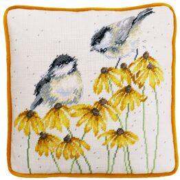 Chitter Chatter Cushion Panel Tapestry Kit