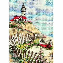 Cliffside Beacon Cross Stitch Kit