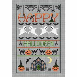Happy Halloween Cross Stitch Kit