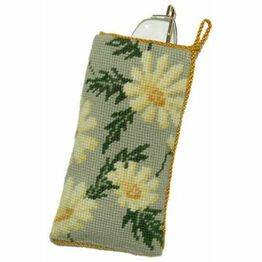 Marguerite Tapestry Glasses Case Kit