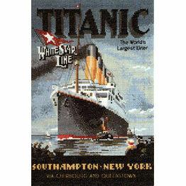 Titanic Cross Stitch Kit