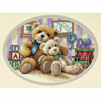 Warm & Fuzzy Cross Stitch Kit