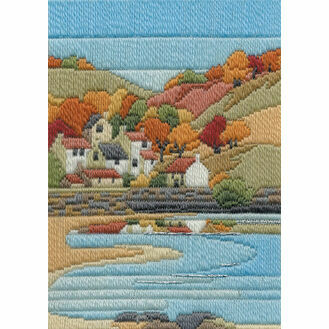 Coastal Autumn Long Stitch Kit