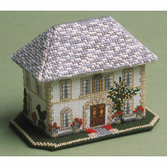 The French Chateau 3D Cross Stitch Kit
