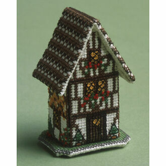 Autumn in Stratford on Avon 3D Cross Stitch Kit