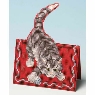 Making Mischief Card 3D Cross Stitch Kit