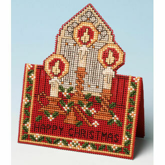 Christmas Lights Card 3D Cross Stitch Kit