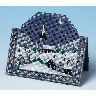 Starry Night Card 3D Cross Stitch Kit