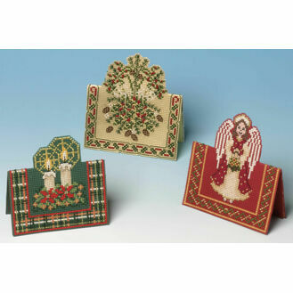 Festive Cards 3D Cross Stitch Selection Pack (3 Cards)