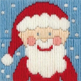 Santa Long Stitch Kit