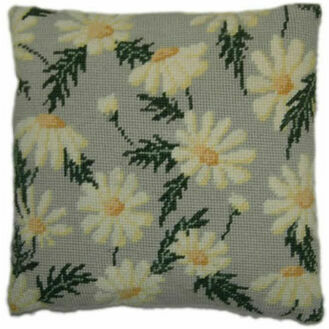 Marguerite Herb Pillow Tapestry Kit
