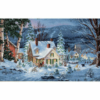 Winter's Hush Cross Stitch Kit