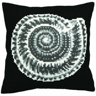 Ammonite Cushion Panel Cross Stitch Kit