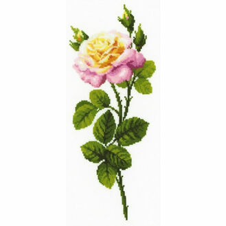 Wonderful Rose Cross Stitch Kit