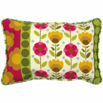 Retro Cushion Panel Tapestry Kit
