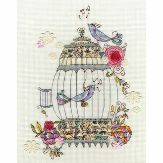 Love Birds Cross Stitch Kit