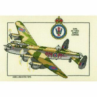 Avro Lancaster Cross Stitch Kit