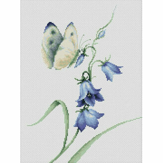 Summer Delight Butterfly Cross Stitch Kit