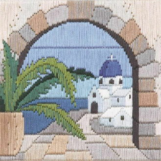 Aegean Arch Long Stitch Kit