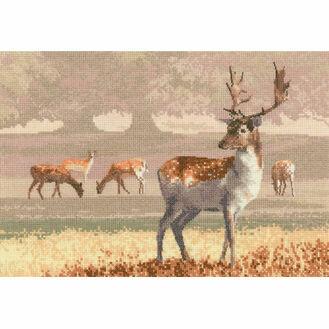 Deer Park Cross Stitch Kit